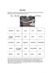 english teaching worksheets billy elliot english worksheets billy elliot character study exercise