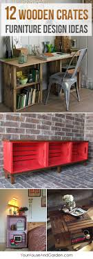 diy crate furniture. best 25 wood crate furniture ideas on pinterest apartment bedroom decor spare and diy
