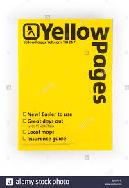 Yellow Pages Phone Book Stock Photos Yellow Pages Phone Book Stock