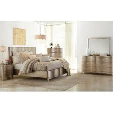Mirror Bedroom Set Serendipity Bedroom Bed Dresser Mirror King Champagne