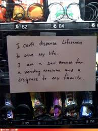 Vending Machine Jokes Adorable Vending Machines That Got The Better Of Mankind TheCHIVE