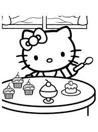 Coloriage Hello Kitty Noel Les Beaux Dessins De Meilleurs