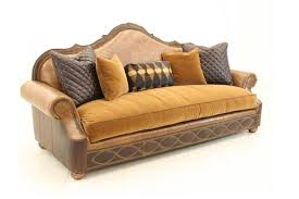 high end upholstered furniture. Tooled Leather Sofa High End Furniture Fine Home Furnishings Upholstered