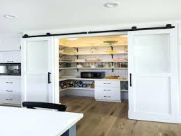 sliding barn door pantry country living ideas doors for pantries