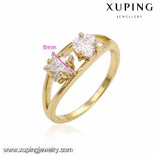 Dubai Gold Designs Catalogue 14211 Xuping Gold Rings Jewelry Women Dubai Gold Ring Designs Catalogue Tungsten Ladies Finger Gold Ring Design Buy Ring Product On Alibaba Com
