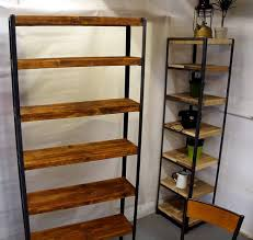 Industrial Bookcase Diy Vintage Industrial Bookshelves Idi Design
