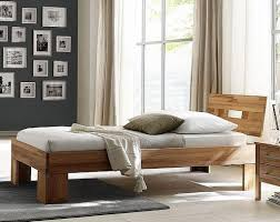Schlafzimmer 3teilig Bett 90x200 Schrank 2türig Glatte Front