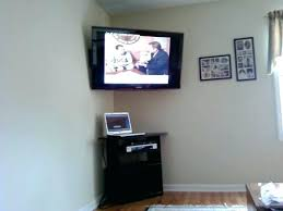corner wall mount flat screen tv for 55 image of best with shelf