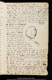 sir isaac newton s cambridge papers added to unesco s memory of  image from newton s essay