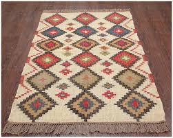 home interior easy wool jute rug safavieh hand woven bohemian beige multi 10 x 14