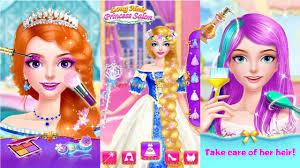 hair salon princess makeup android gameplay