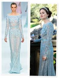 gossip blair waldorf s wedding dress by elie saab author posts yahoo shine
