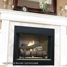 ventless propane fireplace superior firebox unvented propane fireplace logs