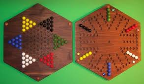 Wooden Aggravation Game Wooden 100Sided Game Board Aggravation Chinese Checkers 1000 Hexagon Han 68
