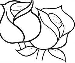 Small Picture Coloring Pages Of Roses regarding Encourage to color an images