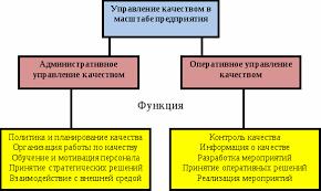 Реферат Управление качеством продукции и услуг в сфере  Управление качеством в масштабе предприятия