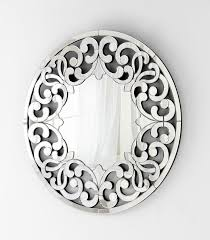 Small Picture Jules Round Artistic Wall Mirror by Cyan Design