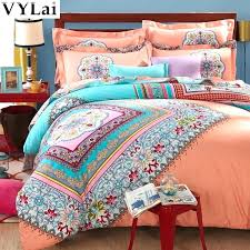 california king boho bedding king comforter set luxury bedding sets 4 queen king size bedclothes bohemian california king boho bedding king comforter