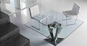 awesome square glass dining table