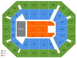 Van Andel Arena Virtual Seating Chart Organized Mohegan Sun Arena Layout Seating Chart At Van