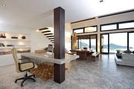 interior design office space. Modern Neutral Home Office Space Interior Design Ideas Interior Design