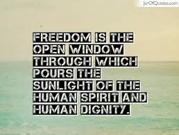 Window Quotes Popular Dignity Quotes About Freedom Is The Open Window Golfian 80