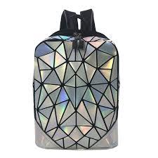 2019 новый женский <b>рюкзак светящийся геометрический</b> плед ...