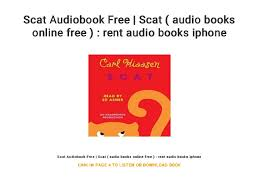 Rent A Book Online Free Scat Audiobook Free Scat Audio Books Online Free
