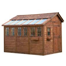 cedar garden shed. Outdoor Living Today SSGS812 8-ft X 12-ft Cedar Sunshed Garden Shed (Actual Size: 11.375-ft)   The Mine