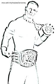 Wwe Coloring Pages John Cena John Coloring Pages Awesome Coloring