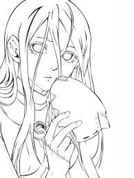 Jinsei Kataoka Van Deadman Wonderland Manga Kleurplaat Gratis