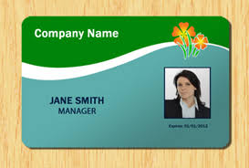 Id Cards Templates Free Downloads Employee Id Template 4 Other Files Patterns And Templates