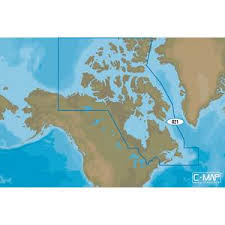 Electronic Charts Canada Na D021 Canada North And East C Map 4d Chart Microsd Sd Card