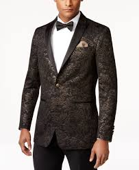 Tallia Men's Vitale Slim-Fit Floral-Scroll Quilted Sport Coat ... & Tallia Men's Vitale Slim-Fit Floral-Scroll Quilted Sport Coat Adamdwight.com