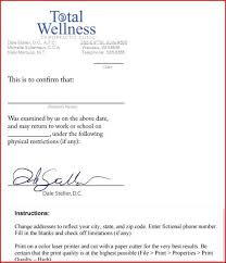 Dr Letter Template Sample Letter From Doctor About Medical Condition Doctors