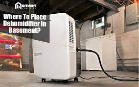 where to place dehumidifier in basement
