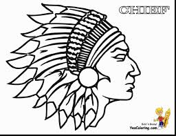Excellent American Indian Coloring Pages With Native In For Adults 8