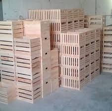 crates in factory