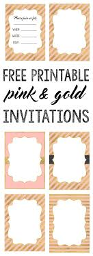 best ideas about printable invitations pink and gold invitations printable