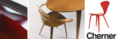 norman cherner experimented in all aspects of design including glassware lighting graphics and furniture he was also one of the pioneering architects cherner furniture