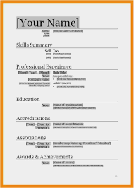 Download 56 Free Resume Template Microsoft Word Photo Free