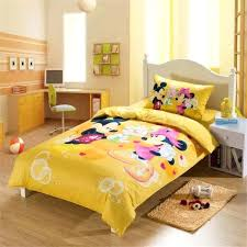 Minnie Mouse Full Size Bed In A Bag Yellow Mickey Mouse Bedding ...