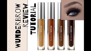 Wunderbrow Shades Chart Wunderbrow Review And Tutorial