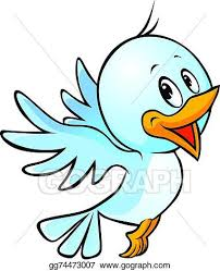 cute bird drawing flying.  Cute Cute Blue Bird Flying Cartoon On Cute Bird Drawing Flying G