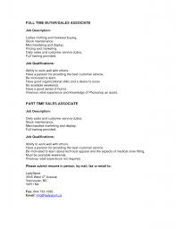 Sales Associate Job Description Resume Exciting Sales Associate Responsibilities Tomyumtumweb 87