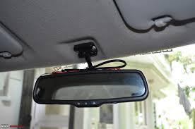 diy install auto dimming irvm anti glare orvms new irvm