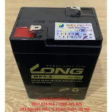 Ắc quy 6V-5Ah dùng cho đèn sạc, quạt sạc, cân điện tử, ô tô xe máy điện trẻ  em