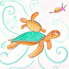 Small Picture Drawn sea turtle hawaii turtle Pencil and in color drawn sea