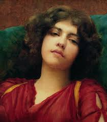 Reverie Painting by John William Godward - Reverie Fine Art Prints and Posters for Sale - 1-reverie-john-william-godward