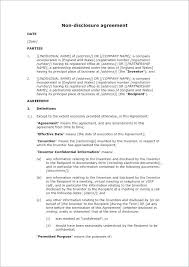 Free Nda Template Confidentiality Agreement Template Word 650 919 Simple Nda